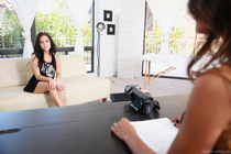 Lindsey Woods Megan Rain Raunchy Horny Threesome - Picture 1