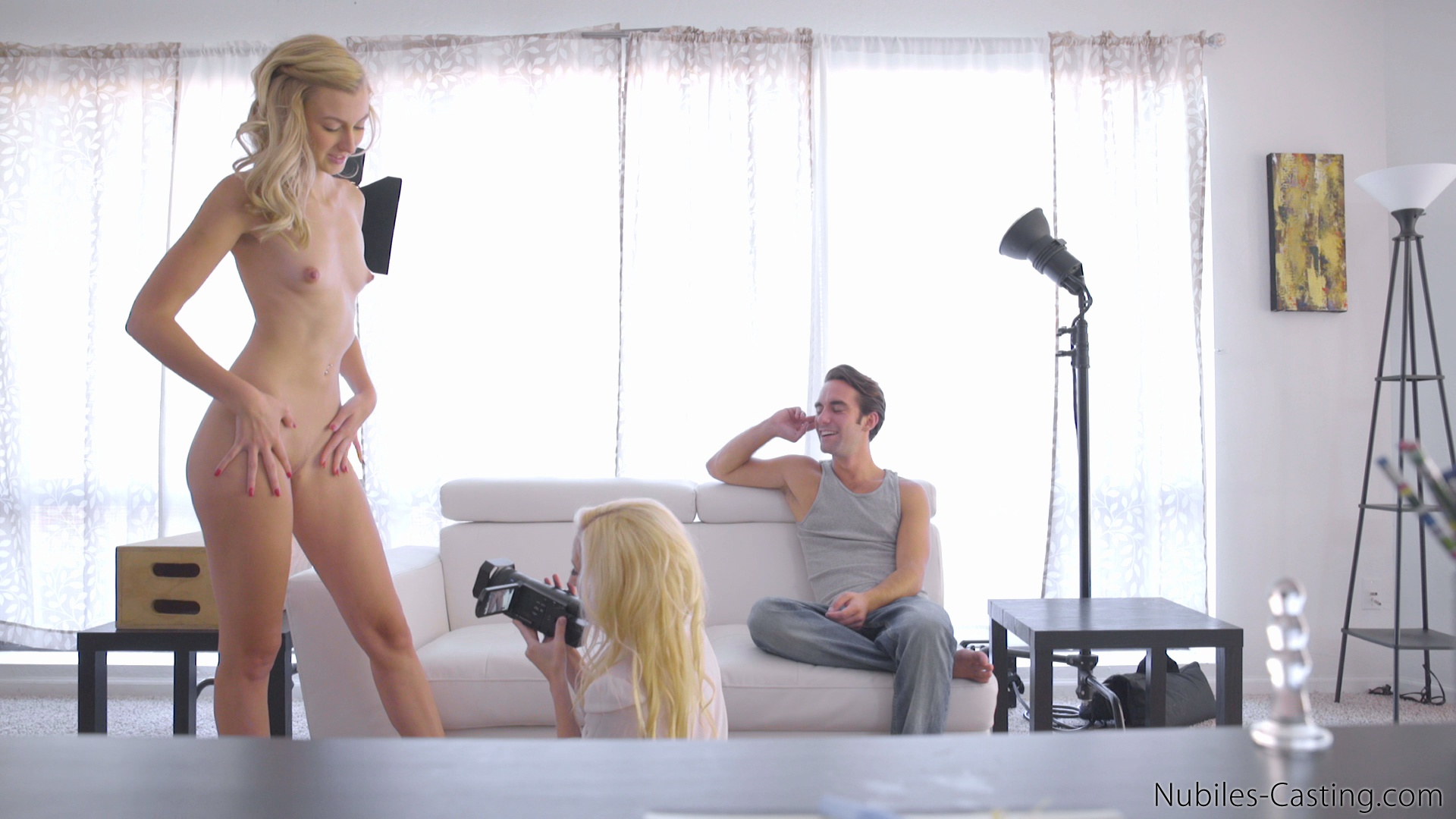 Blonde Teen Casted Free 85